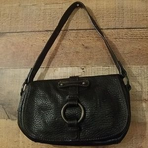 Banana Republic Black Leather Handbag